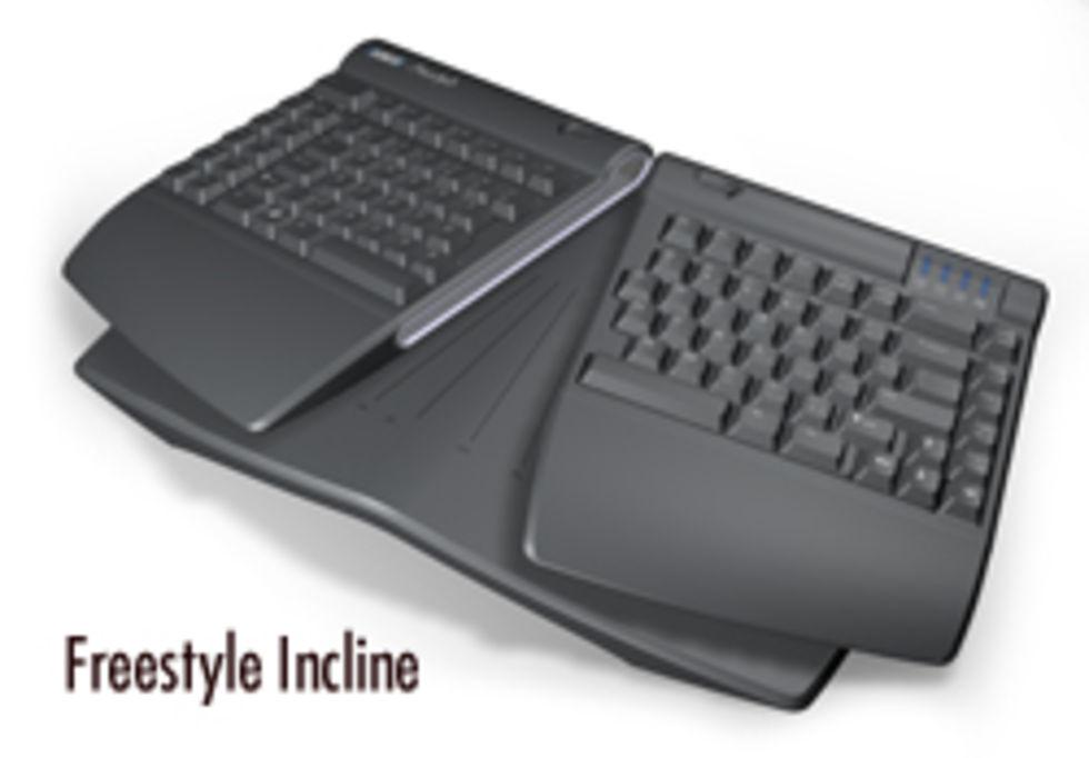 Tvådelat tangentbord från Kinesis. Allt för ergonomin  555a684493d71