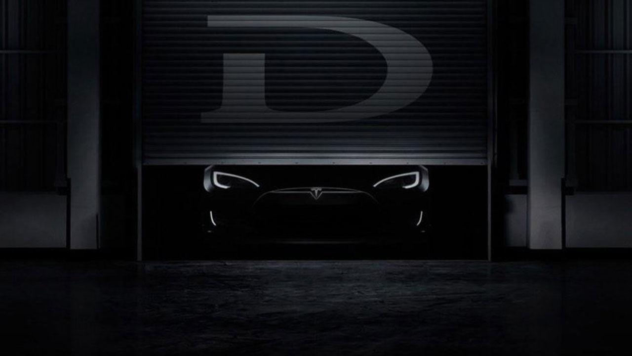 Tesla teasar nya modellen D