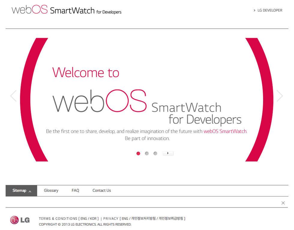 LG vill ha webOS i smarta klockor