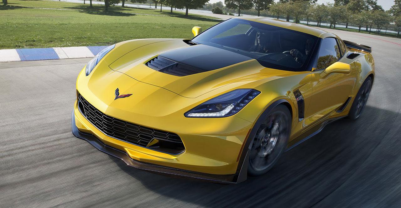 Corvette Z06 gör 0-100 km/h på tre sekunder