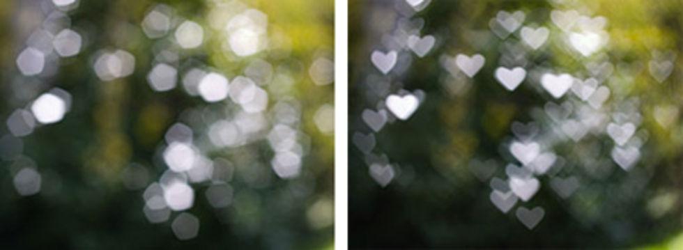 Hjärta ur fokus