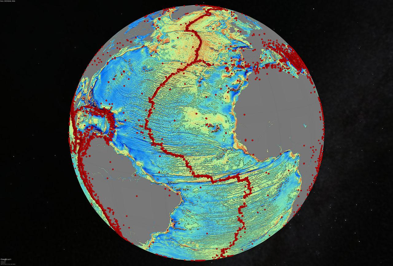 Nya kartor för havsdjupen framtagna