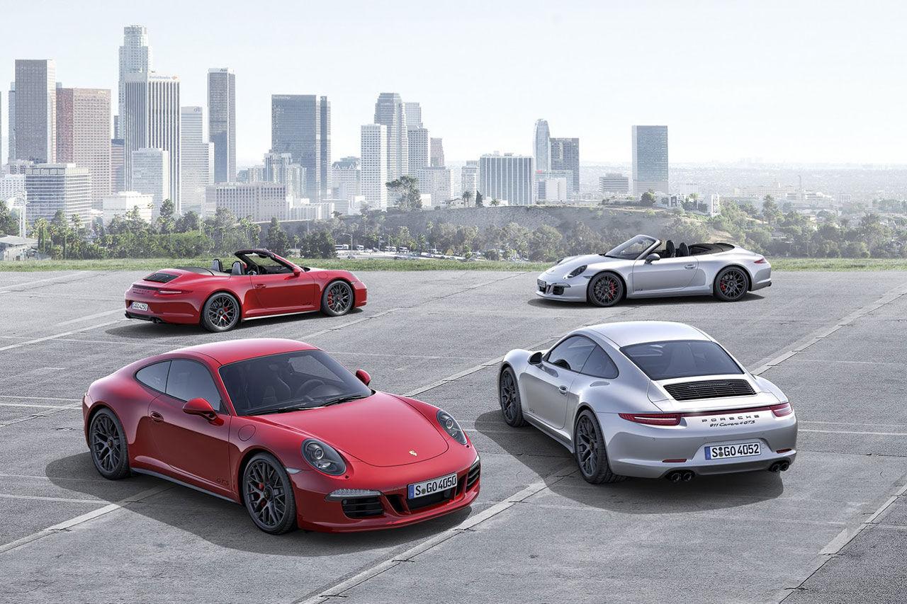 Porsche presenterar nya 911 GTS
