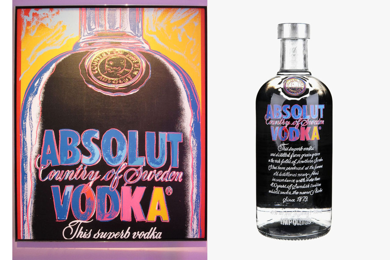 Absolut släpper Andy Warhol-flaska
