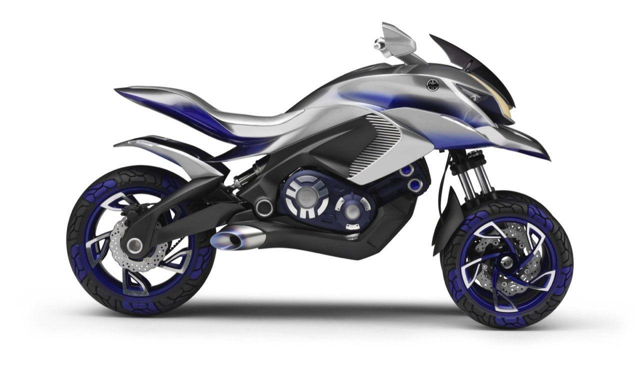 Yamaha visar trehjulingen 01Gen