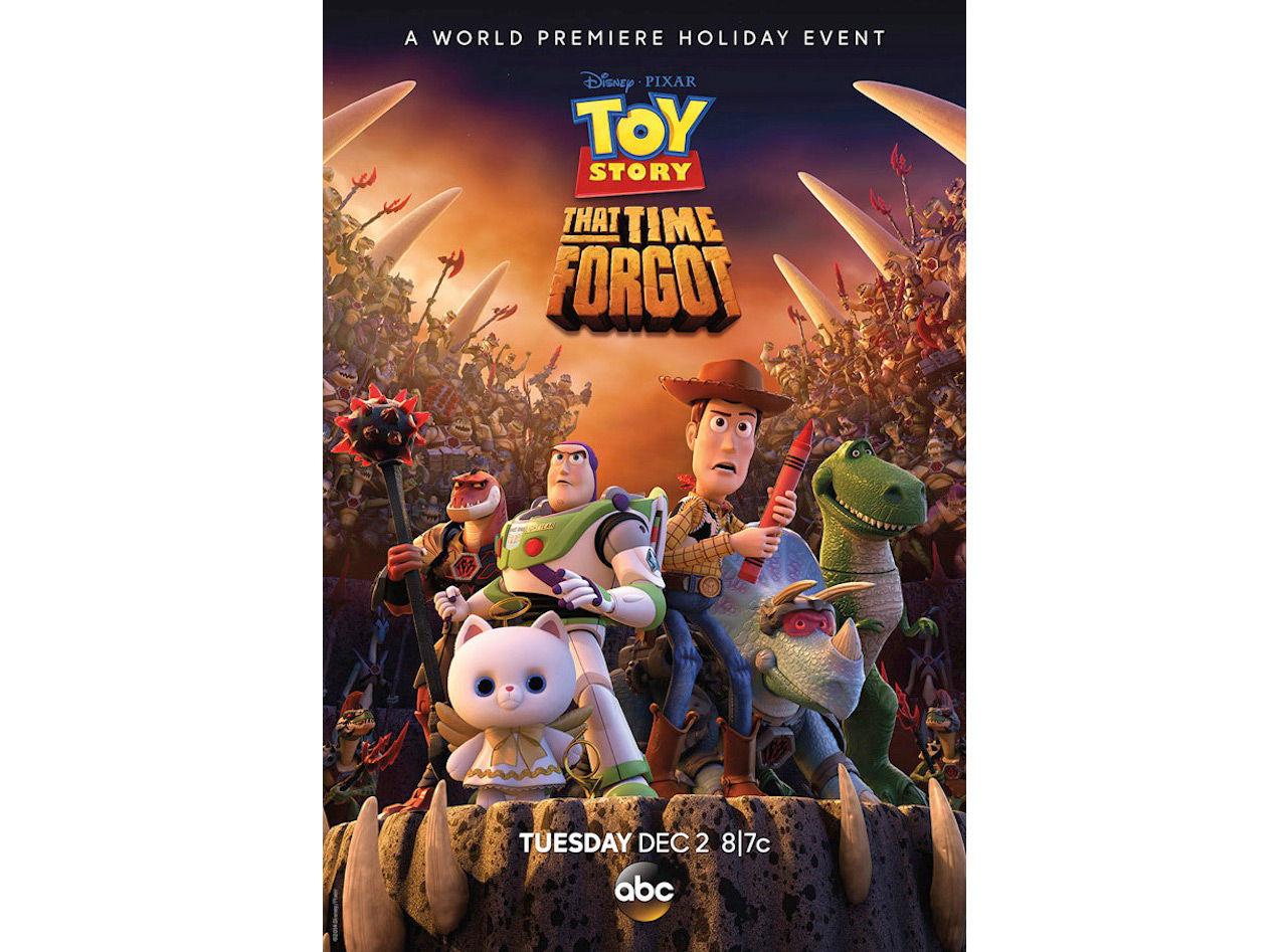 En titt på nästa tv-special med Toy Story