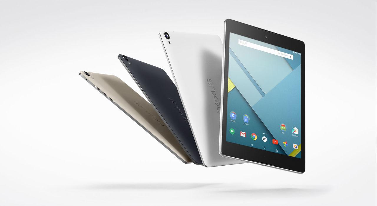 HTC och Google släpper Nexus 9