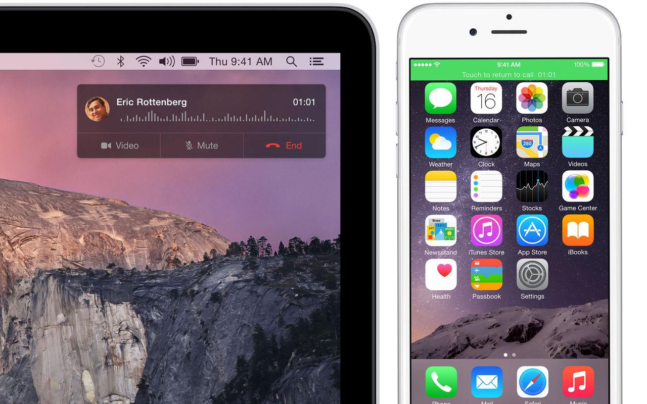 Så här ringer du med OS X Yosemite
