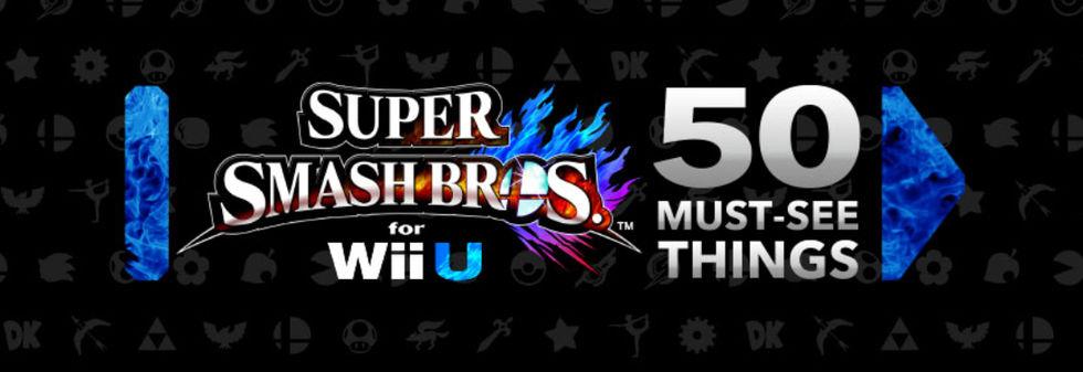 Nintendo livesänder om Super Smash Bros. for Wii U