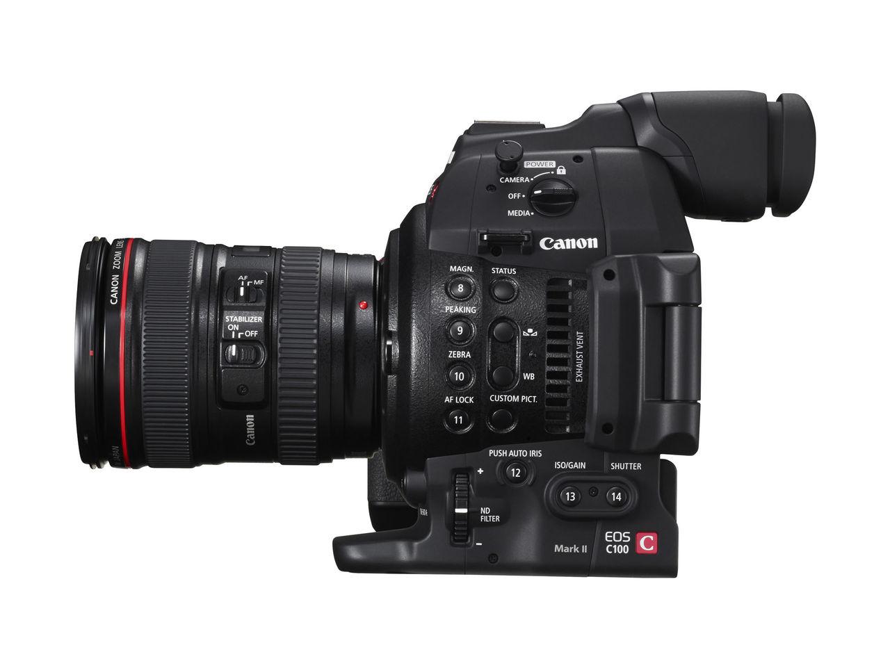 Canon lanserar EOS C100 Mark II