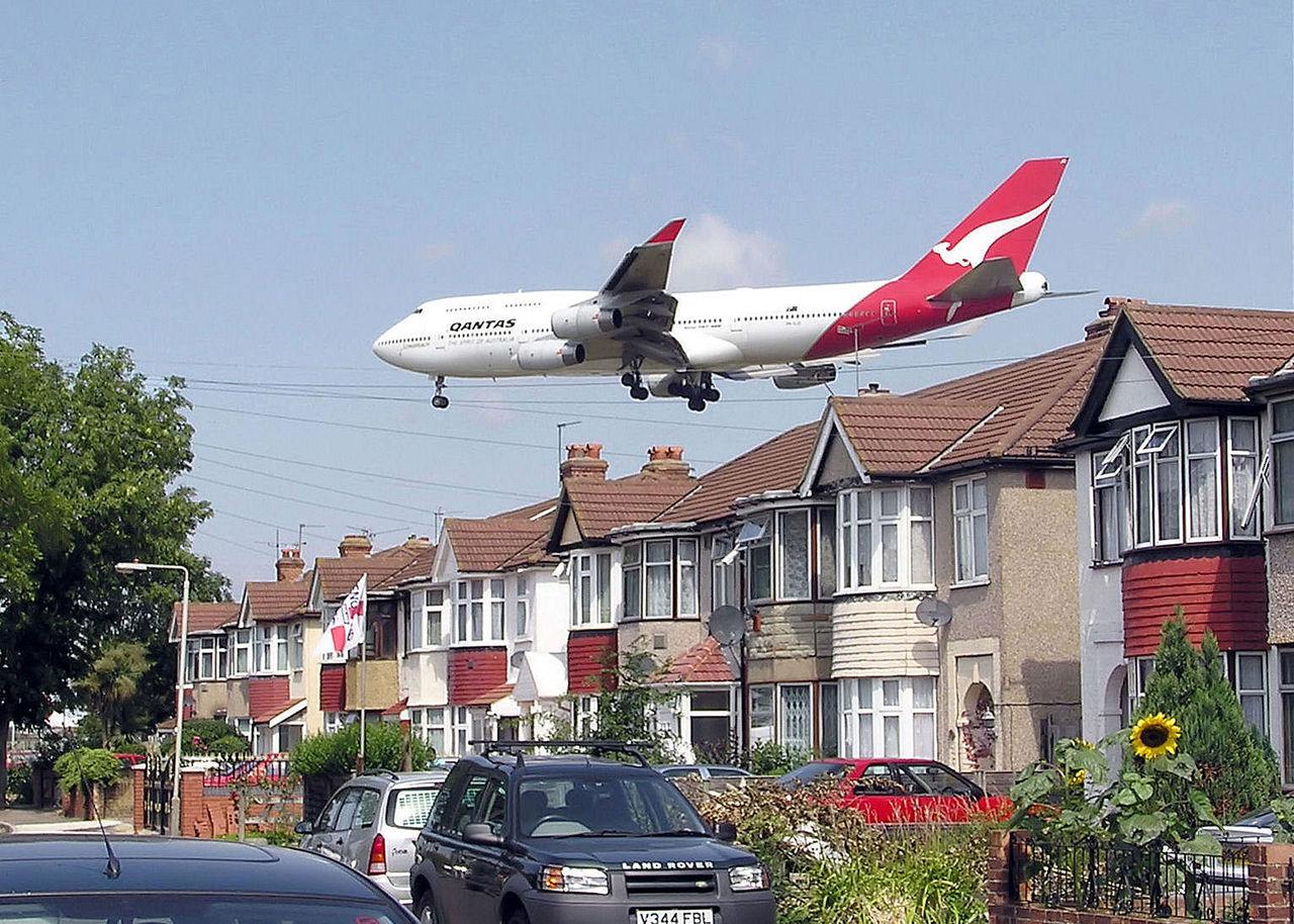 Liggande flygsäten på Qantas