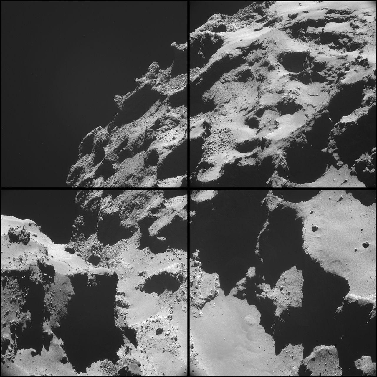 Kometen 67P/C-G stinker