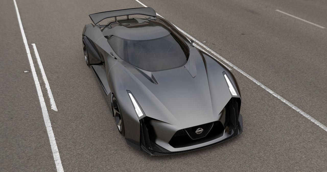Nästa Nissan GT-R blir en hybrid