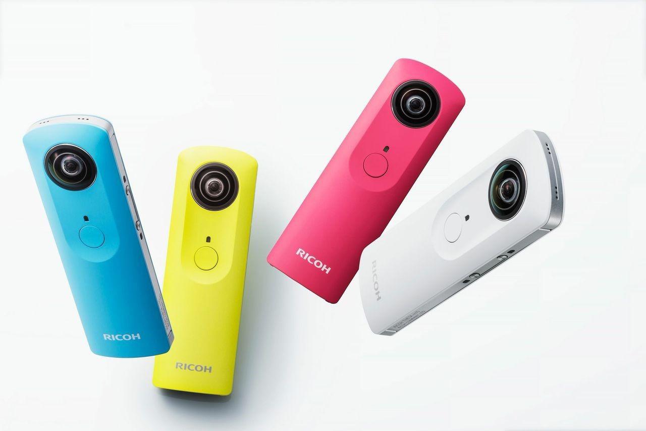 Ny 360-kamera från Ricoh