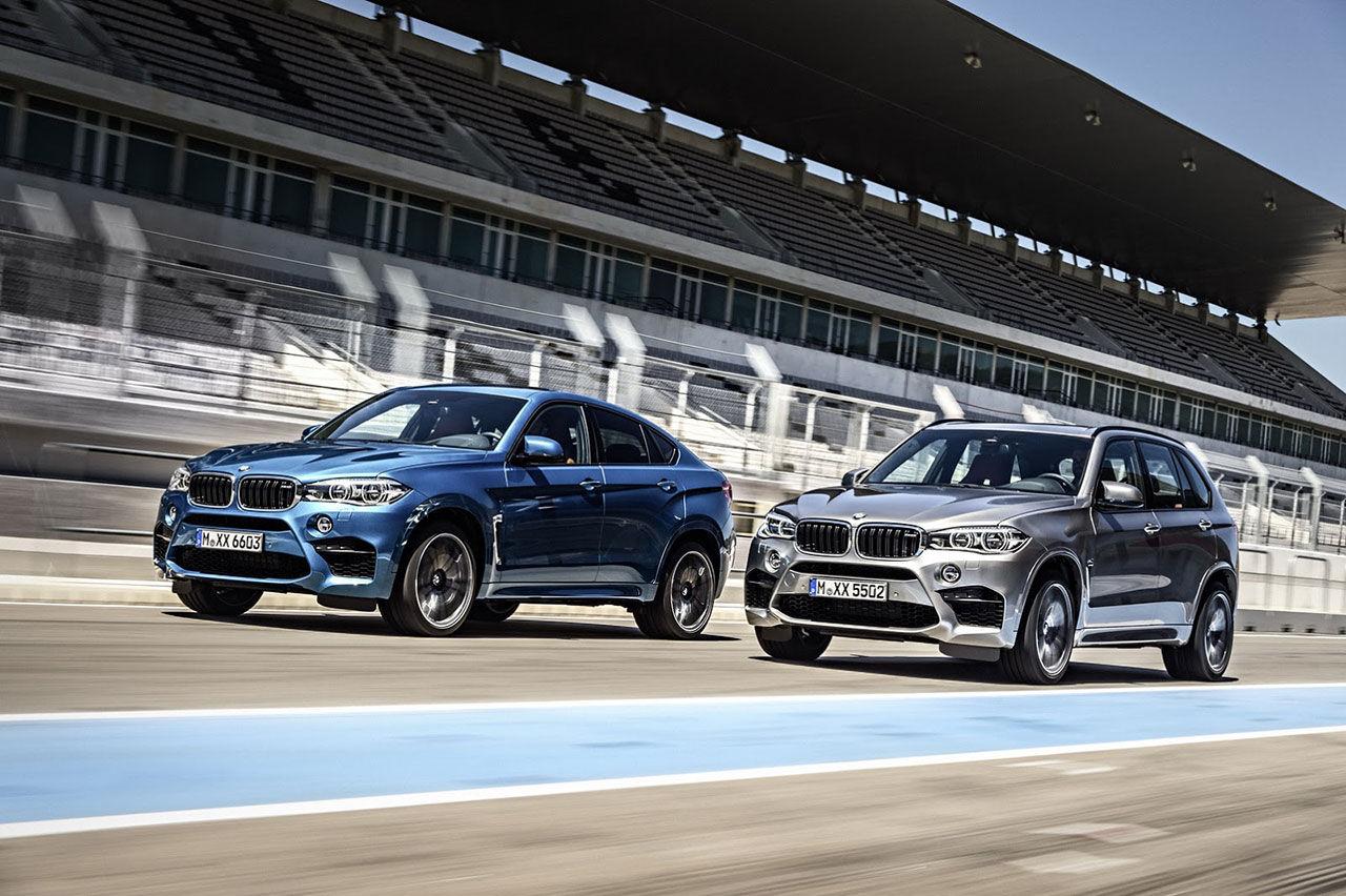 BMW presenterar nya X5 och X6 M