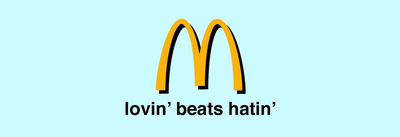 McDonald's får extra slogan nästa år