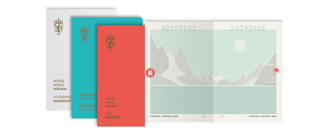 Norge får nya pass