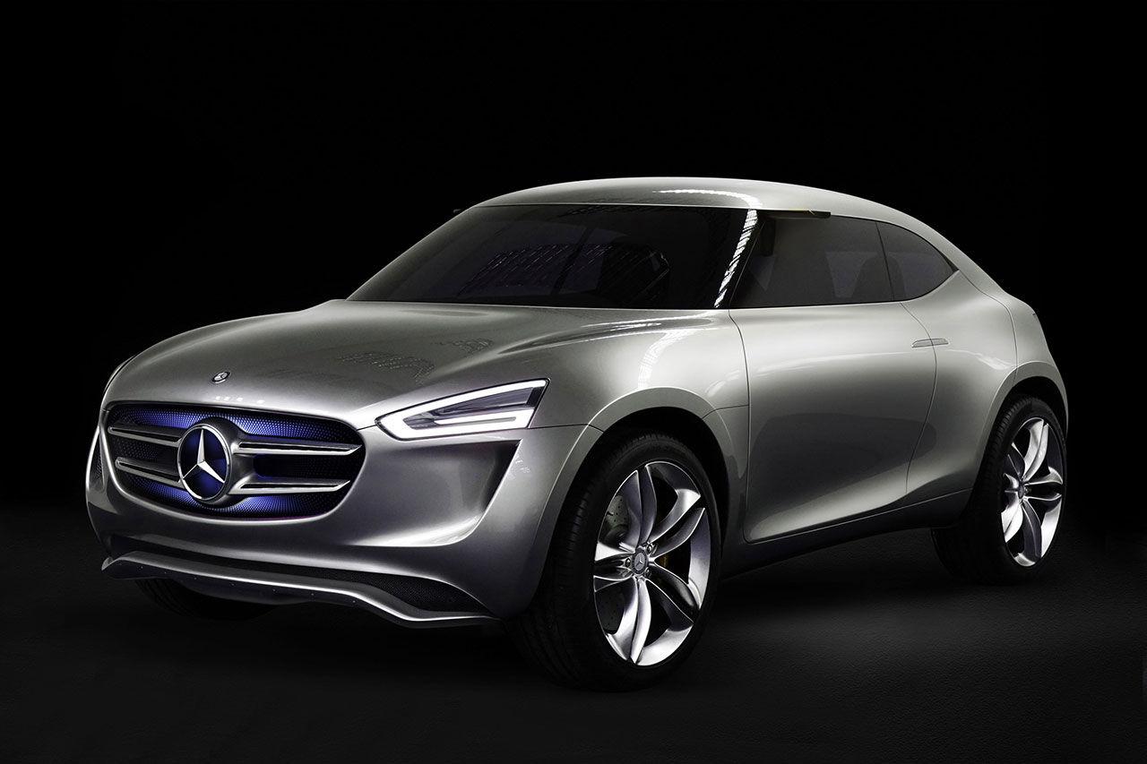 Mercedes visar kompaktsuven G-Code Concept