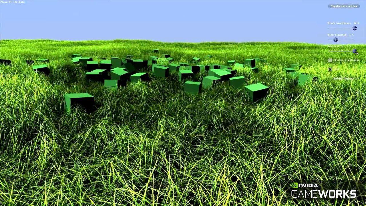Nvidia utvecklar Turf Effects