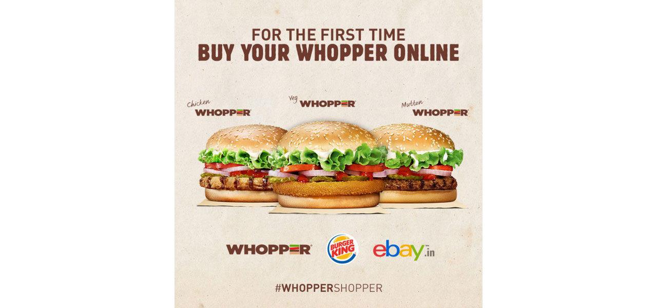 Burger King serverar fårkötts-Whopper i Indien