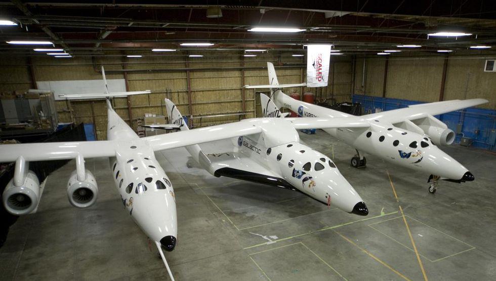 Virgin Galactic återupptar produktionen av SpaceShipTwo 2
