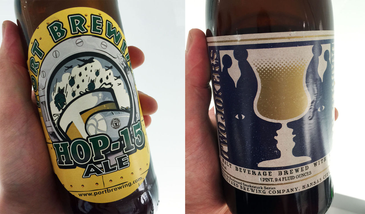 Två goda öl i november