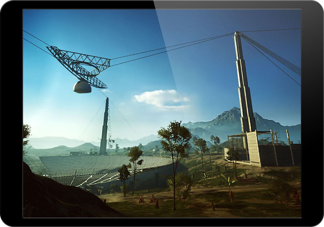 Frostbite testar att köra Battlefield 4 på iOS