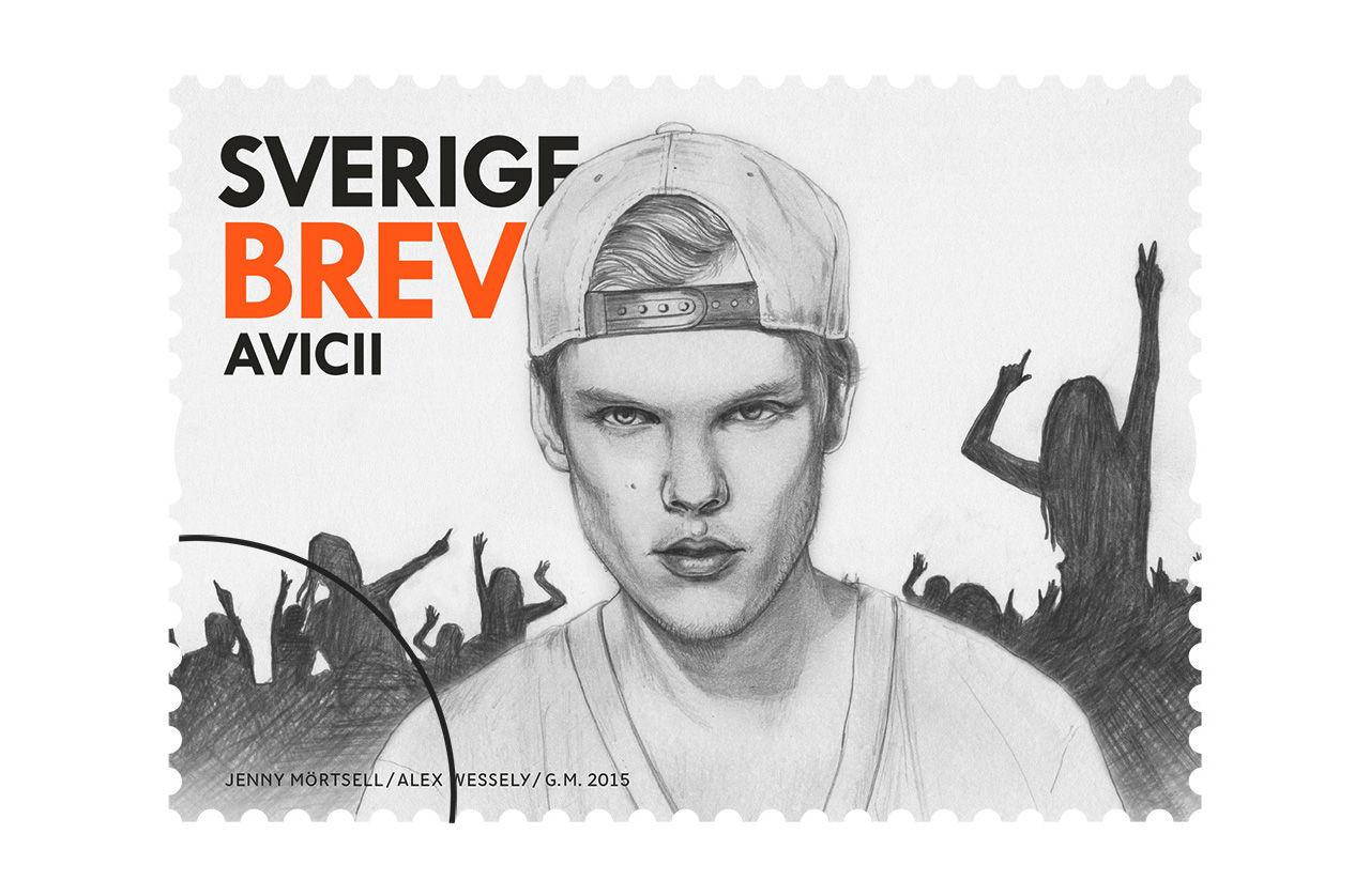 Svensk pop blir frimärken