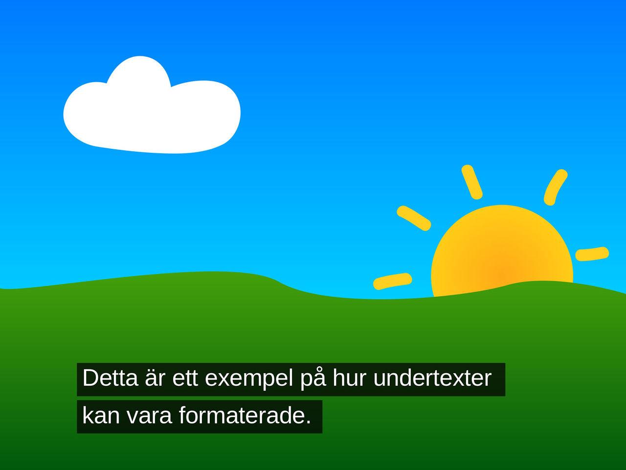 SF börjar texta svenska filmer