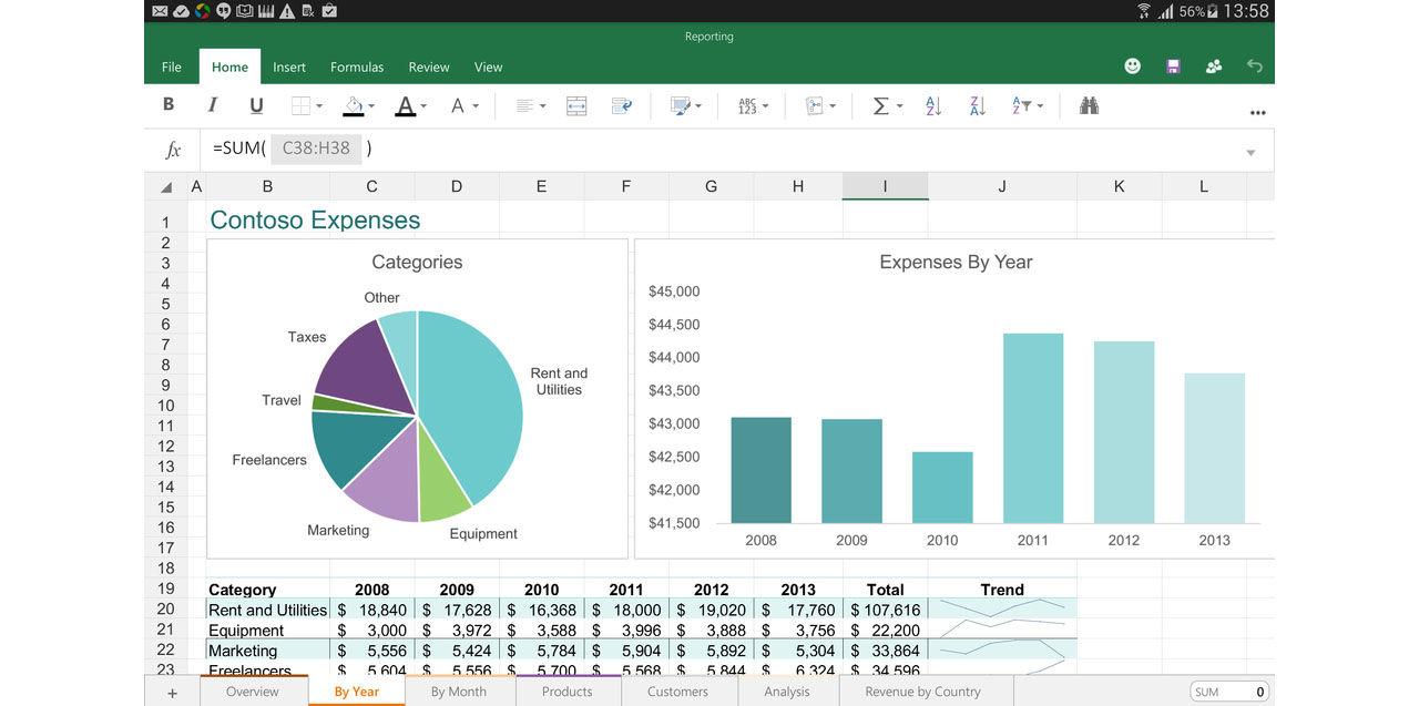 Microsoft presenterar Office för Android-tablets