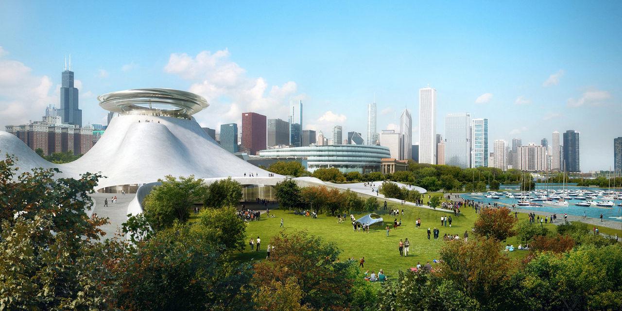Så här kommer Lucas Museum i Chicago att se ut