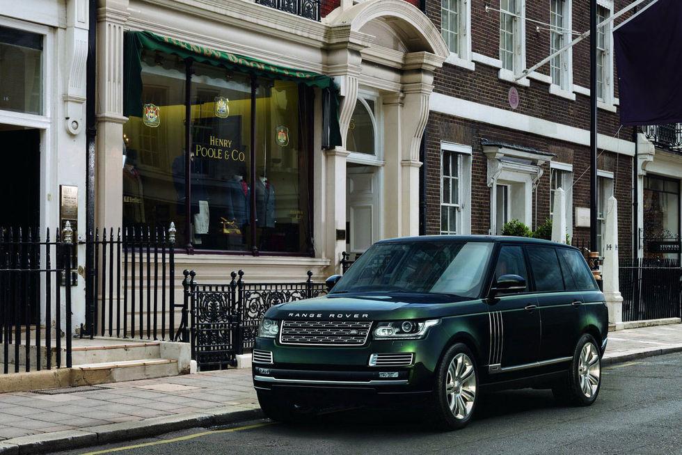 En Range Rover med extra pangpang