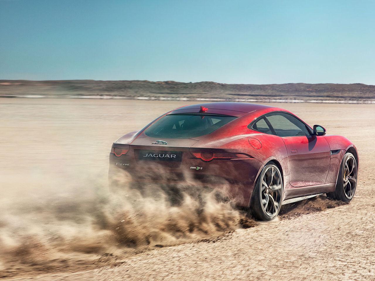 Jaguar F-type får driv på alla fyra