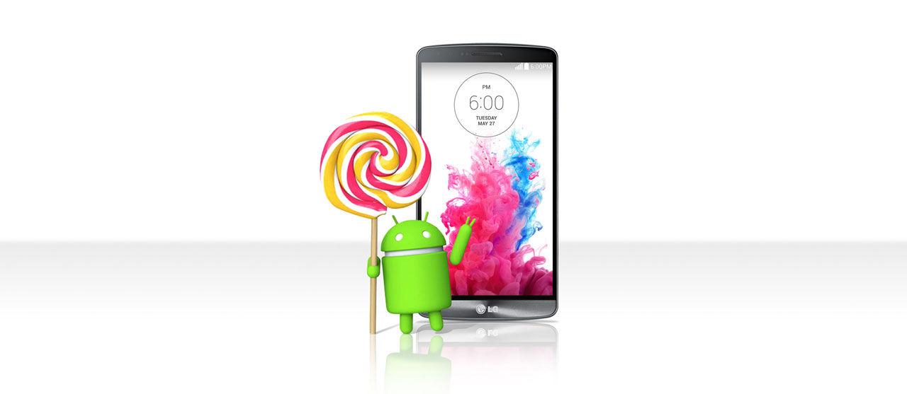 LG G3 får Android 5 redan nästa vecka