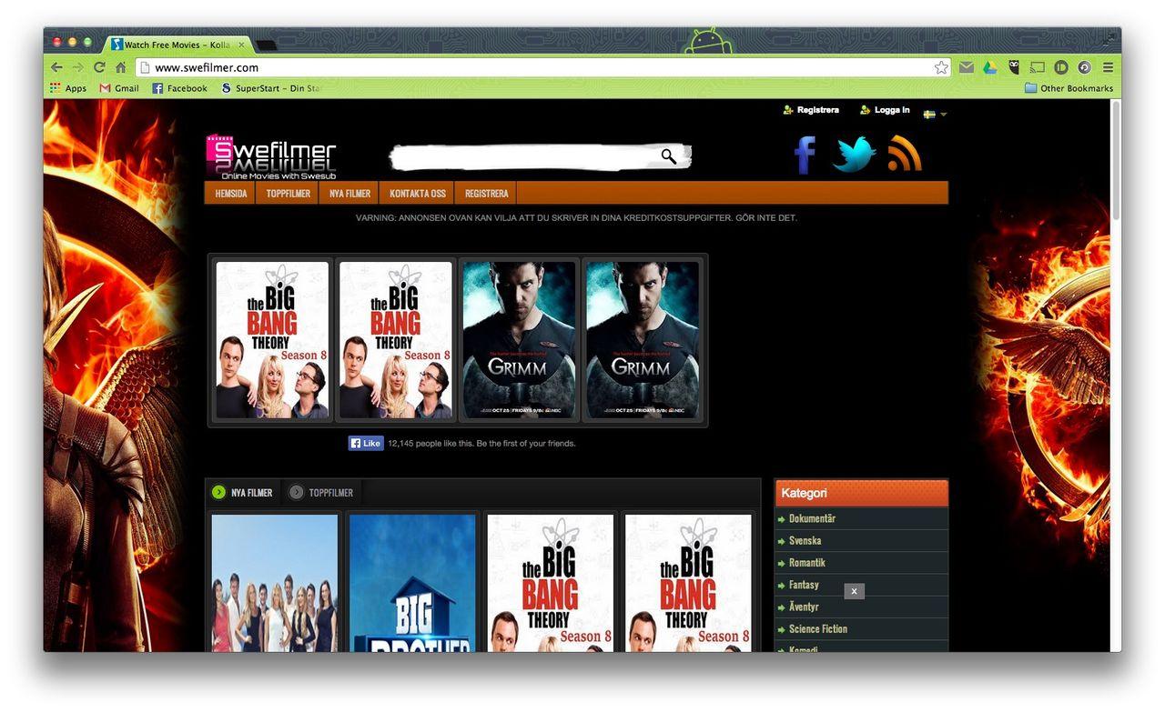 TV-, film- och skivbolag stämmer Bredbandsbolaget