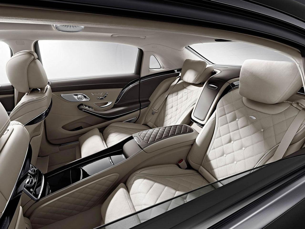 De första bilderna på Mercedes-Maybach S600