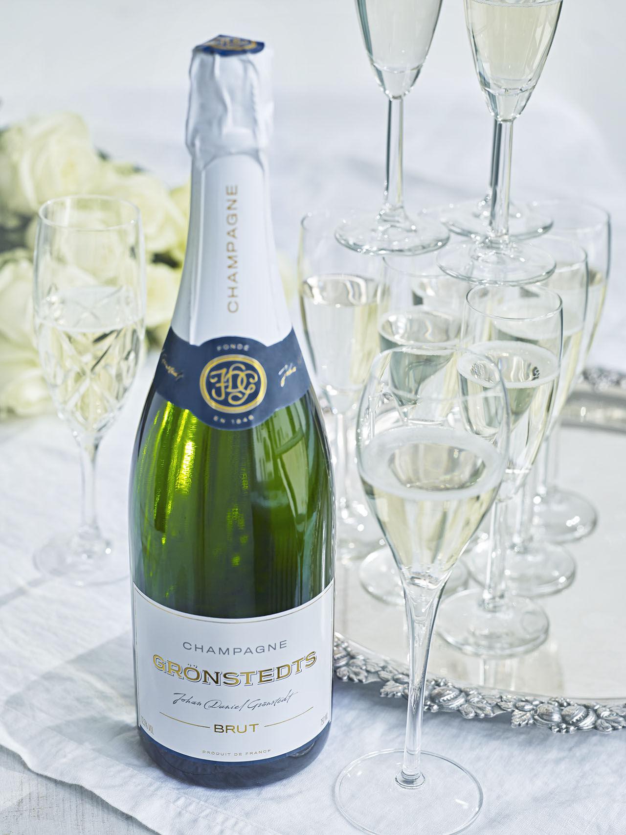 Grönstedt lanserar en champagne