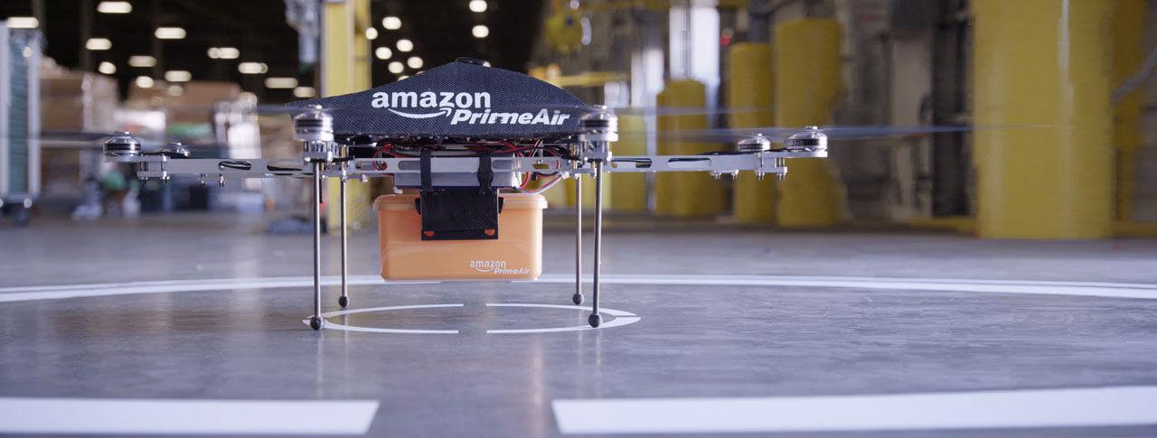 Amazon vill testa drönare även i Storbritannien