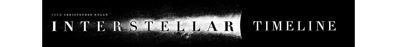 Överblick på tidslinjen i Interstellar