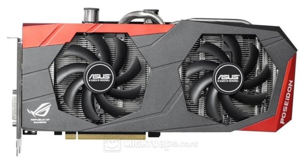 Asus GeForce GTX 980 Poseidon visar upp sig för kameran