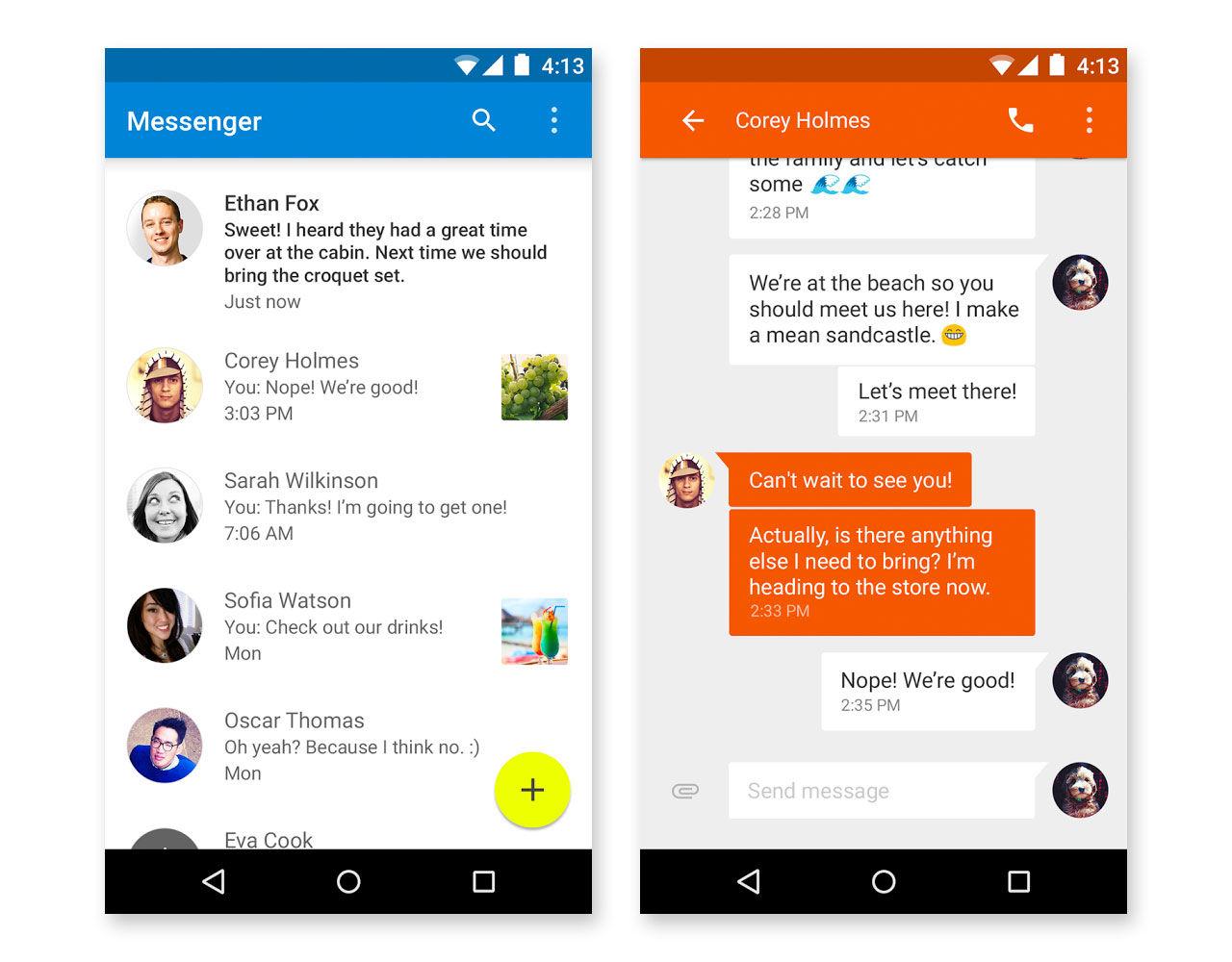 Nu har Google släppt sin egen Messenger