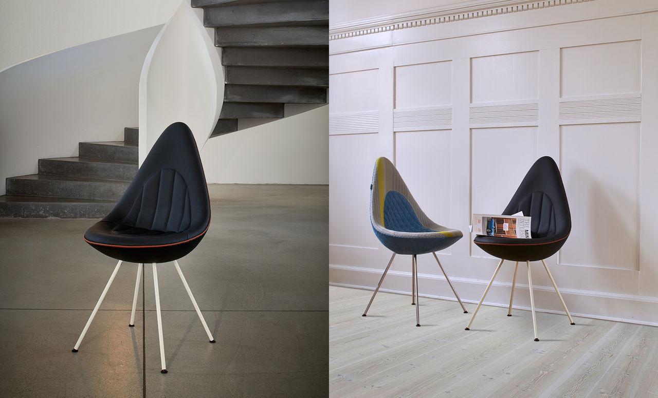 Mini visar upp nya droppformade stolar