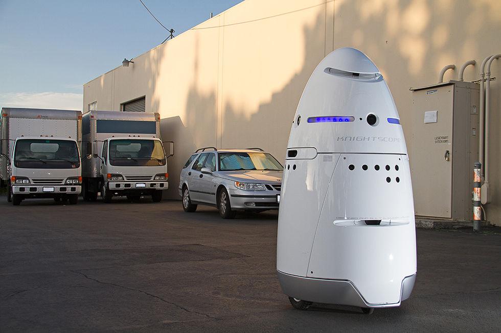 Nu är övervakningsroboten K5 snart redo för marknaden