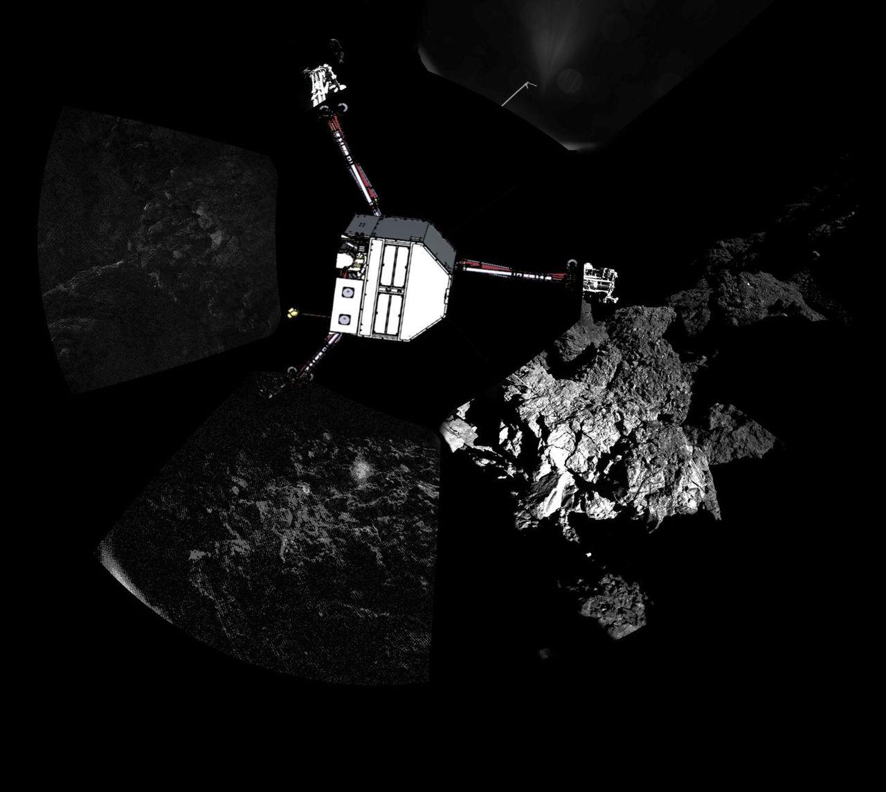 Kometlandaren Philae har somnat