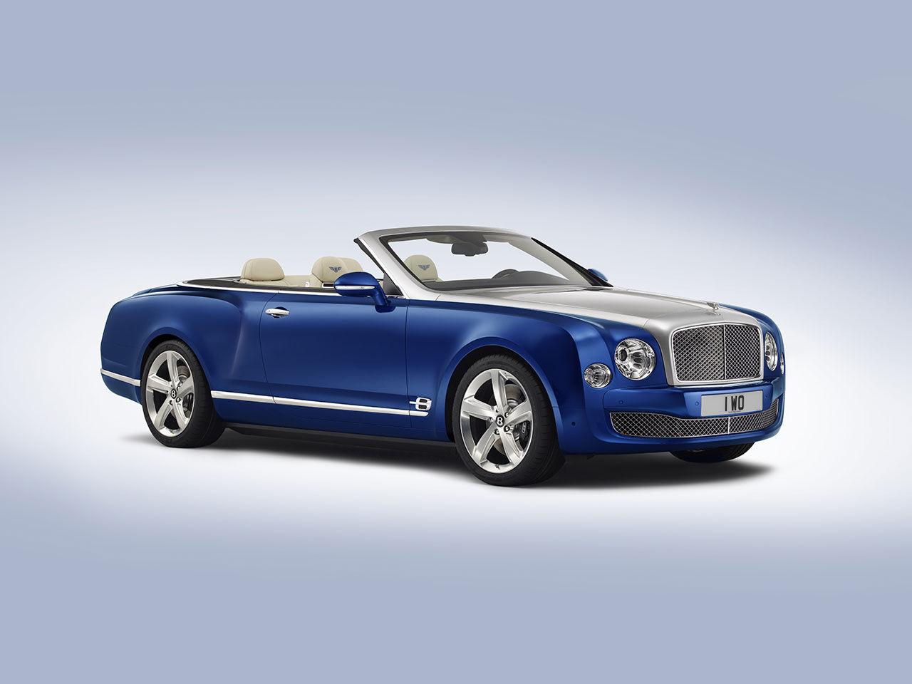 Bentley Mulsanne i cabrioletutförande är här