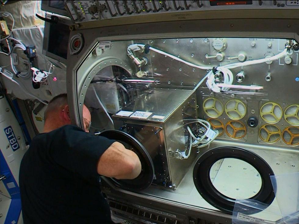 ISS har nu fått sin första 3D-skrivare