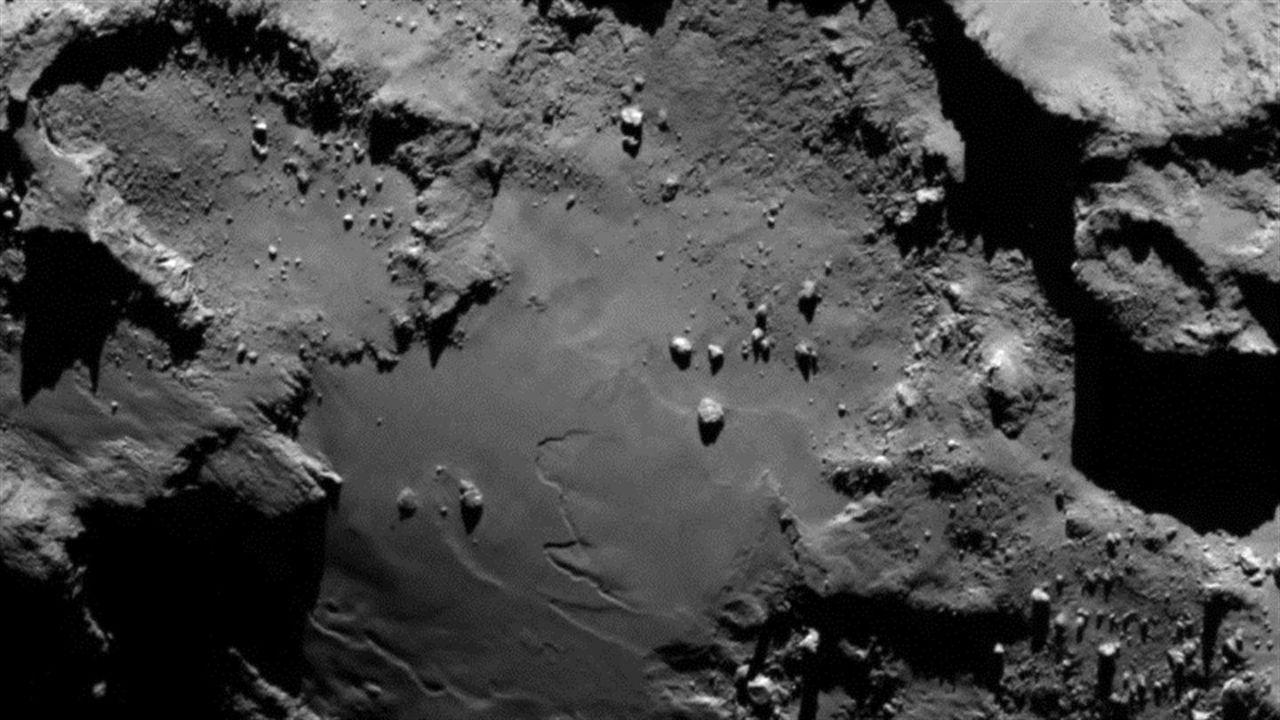 Organiskt material hittat på kometen 67P/Churyumov-Gerasimenko