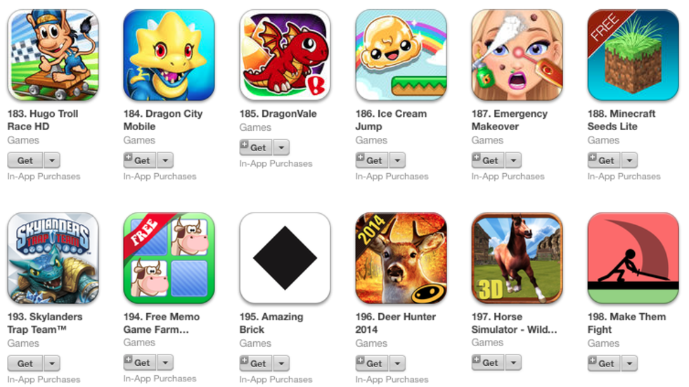 Apple har bytt namn på en knapp i App Store