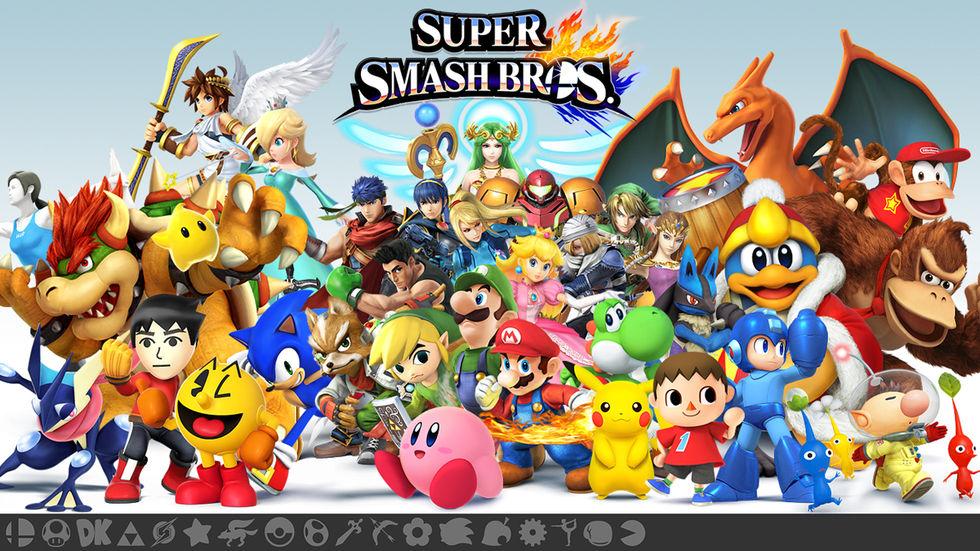 Sakurai pratar DLC till Super Smash Bros.