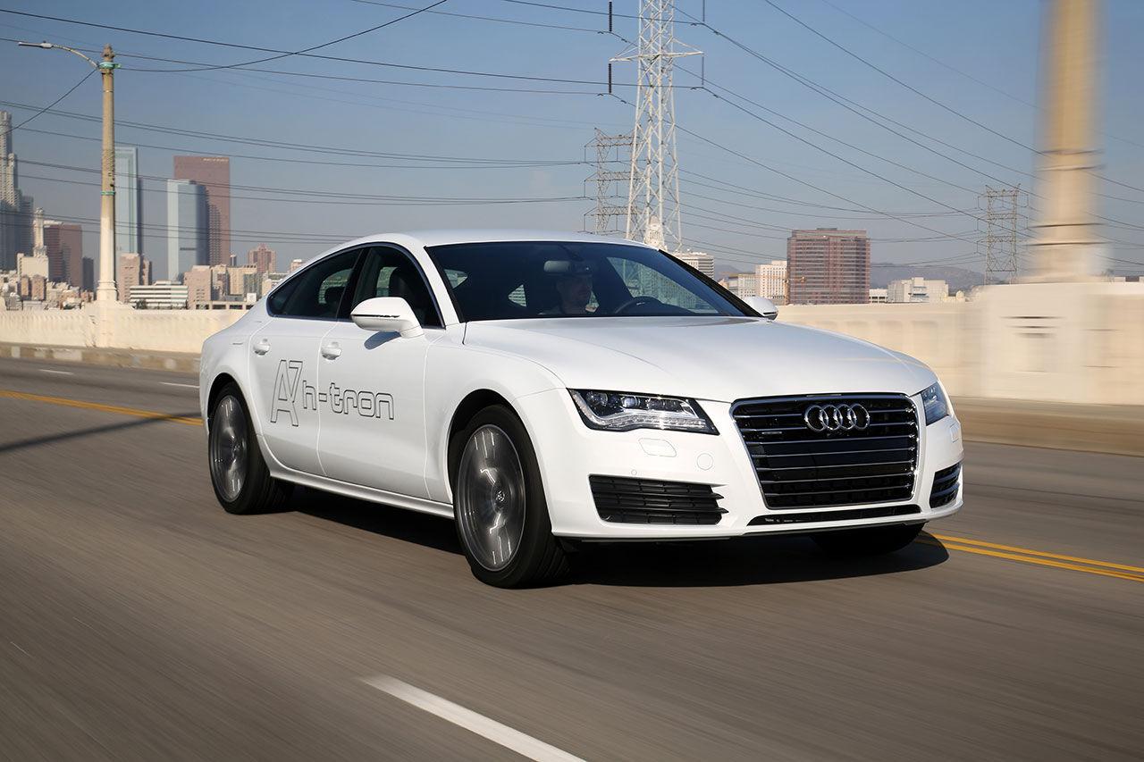 Audi visar vätgasdriven A7 i Los Angeles